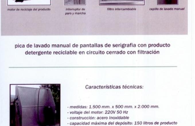 PICA INOX LIMPIEZA PANTALLAS